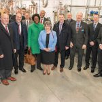 Members of Congress and invited guests visit Fermilab's PIP-II test stand