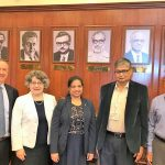 Indian Department of Energy and Fermilab officials meet in India in 2018