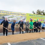 Fermilab breaks ground on the PIP-II accelerator project, joined by dignitaries from the United States and international partners on the project