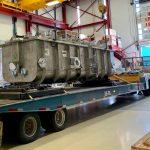 Half-wave resonator cryomodule transported to ICB